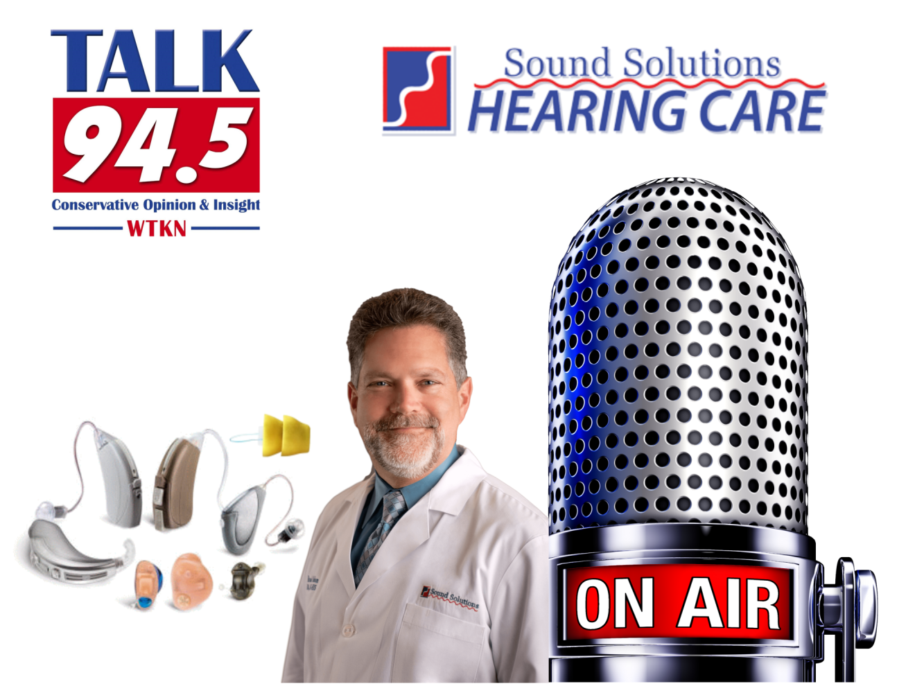 Listen to Radio Talk Show 94.5 with Brad Odom from Sound Solutions